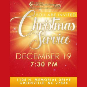 Christmas Service @ Greenville Community Christian Church | Racine | Wisconsin | United States