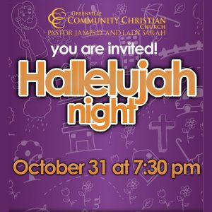 Hallelujah Night @ Greenville Community Christian Church | Greenville | North Carolina | United States