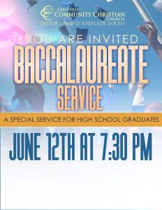 Baccalaureate Service @ Greenville Community Christian Church | Racine | Wisconsin | United States